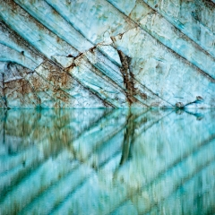 Cavell Glacier Reflection