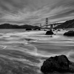Storm Brewing at the Golden Gate