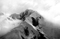 Cloudy Ridge in the Alaska Range