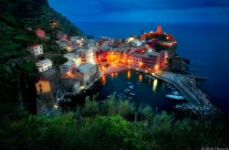 Twilight at Vernazza