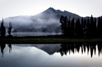 Morning Fog Over Sparks Lake