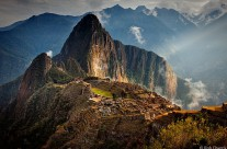 First Light on Machu Picchu