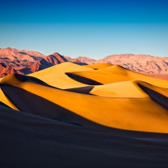 Mesquite Dunes at Sunset 2