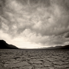 Storm Brewing at Badwater