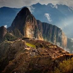 First Light on Machu Picchu