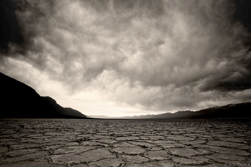 Rob Dweck - Storm Brewing At Badwater