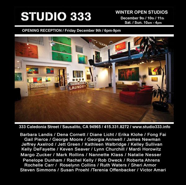 Studio 333 Open Studios